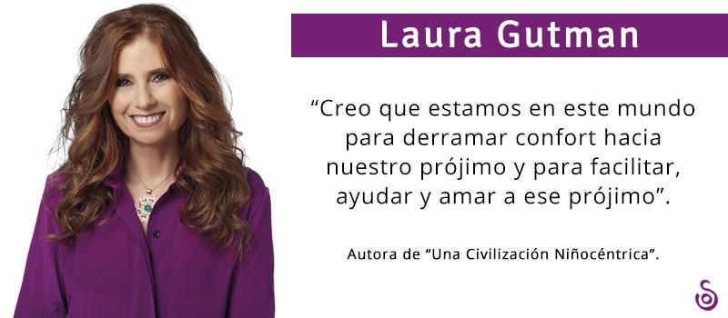 """LAURA GUTMAN: """"NO ESTOY DEL TODO SEGURA DE QUE ESTEMOS EN ESTE MUNDO PARA SER FELICES"""""""