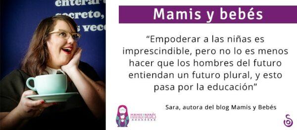 LA REVOLUCIÓN FEMINISTA TIENE QUE SER LIDERADA POR LAS MUJERES, PERO LOS HOMBRES TIENEN QUE SER NUESTROS ALIADOS.