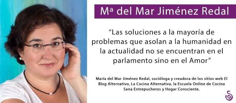 MARÍA DEL MAR JIMÉNEZ REDAL: «HOY PREPARAR LENTEJAS A FUEGO LENTO ES UN ACTO SUBVERSIVO»